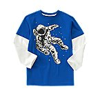 Digital Astronaut Double Sleeve Tee