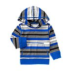 Stripe Hooded Tee