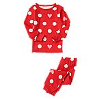 Girl Dot Heart Sleep LS/LB Tight Fit