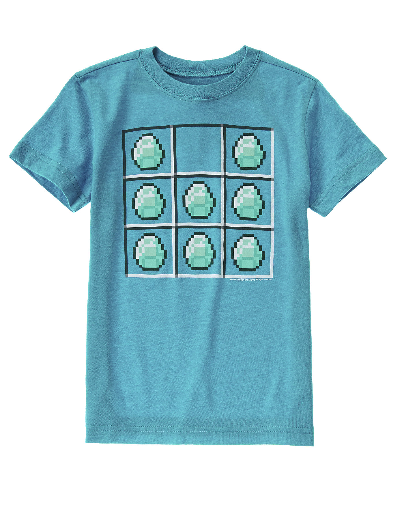 Minecraft Diamond Crafting Tee