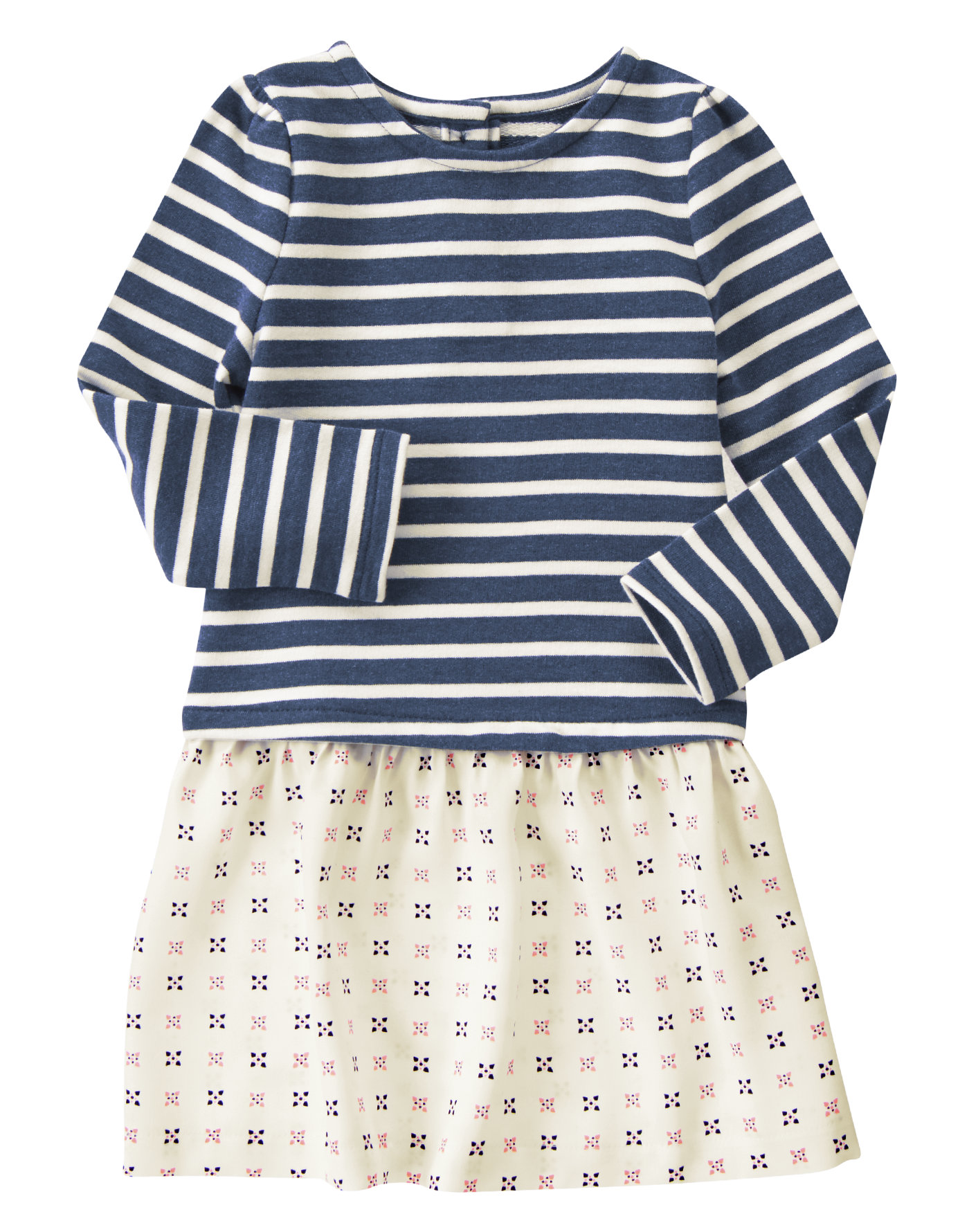 Stripe Geo Dress