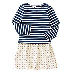 Stripe Geo Dress