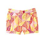 Geo Print Bubble Shorts