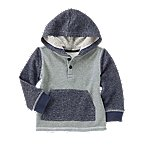 Colorblock Hooded Pullover