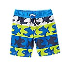 Piranha Fish Swim Trunks