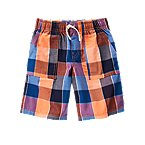 Check Pull-On Shorts