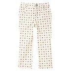 Geo Floral Print Skinny Pants