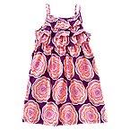 Geo Flower Print Dress
