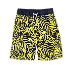 Geo Palm Swim Trunks