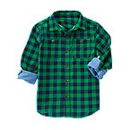 Double Weave Check Shirt