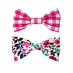 Bow Barrettes 2-Pack