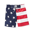 Flag Swim Trunks