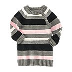 Sparkle Stripe Sweater Dress