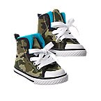 Camo High-Top Sneakers