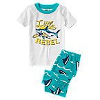 Little Rebel Two-Piece Shortie Pajama Set