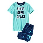 Gimme Some Space Two-Piece Shortie Pajama Set