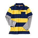 Double Sleeve Stripe Polo