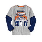 Go 4X4 It Double Sleeve Tee