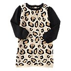 Leopard Print Sweater Dress