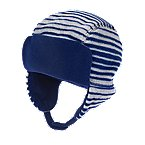 Stripe Earflap Hat