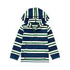 Hooded Stripe Henley