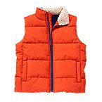 Sherpa Lined Puffer Vest