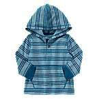 Stripe Hooded Henley