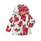 Floral Hooded Puffer