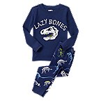 Lazy Bones Dino 2-Piece Pajama Set