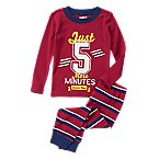 Just 5 More Minutes 2-Piece Pajama Set