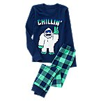 Chillin' Monster 2-Piece Pajama Set
