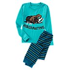 I'm Hibernating Bear 2-Piece Pajama Set