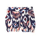 Ikat Bubble Shorts