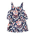 Ikat Double Layer Romper