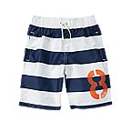 8 Stripe Swim Trunks