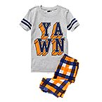 Yawn Two-Piece Shortie Pajama Set