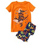 DJ Dino 2-Piece Shortie Pajama Set