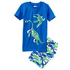 Dino 2-Piece Shortie Pajama Set