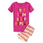 Surf 2-Piece Shortie Pajama Set