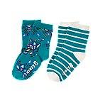 Peacock Socks 2-Pack