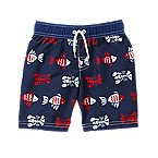 Lobster Fish Swim Trunks