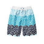 Leaf Colorblock Swim Trunks