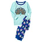 Peacock 2-Piece Pajama Set