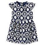 Jacquard Geo Dress