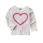 Heart Stripe Tee