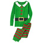 Elf 2-Piece Pajama Set