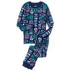 Ticket Stub 2-Piece Pajama Set