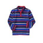 Stripe Microfleece Pullover