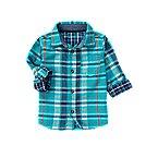 Plaid Doubleweave Shirt