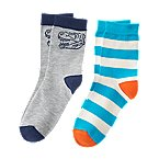 Dino Stripe Socks 2-Pack